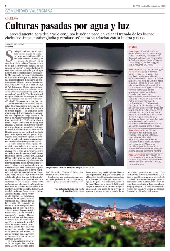 Kiosko y Más - El País (Valencia) - 21 ago 2012 - Page #56