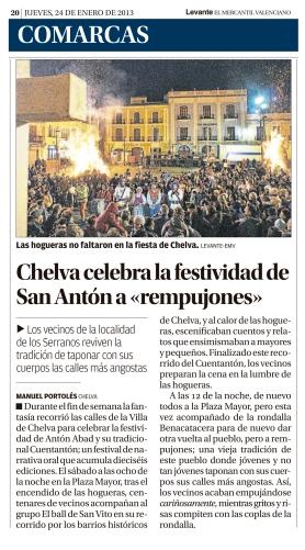 Levante-EMV 24/01/2013