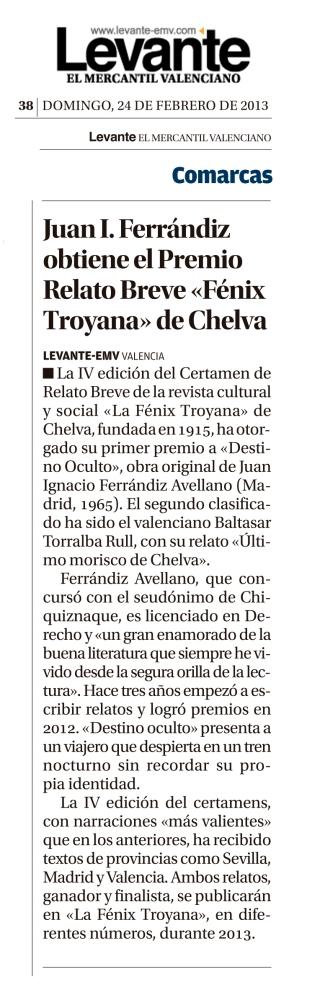 Levante-EMV 24/02/2013