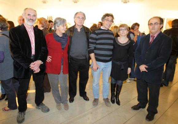 """CLUB/// """"Ahillas es arte"""" Exposición colectiva de artistas en el Club."""