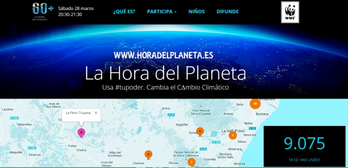 20150326 LA HORA DEL PLANETA (DOS)  y LA FENIX V5