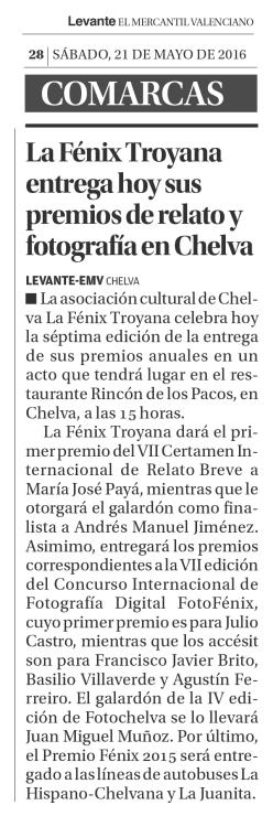 Levante-EMV 21/05/2016