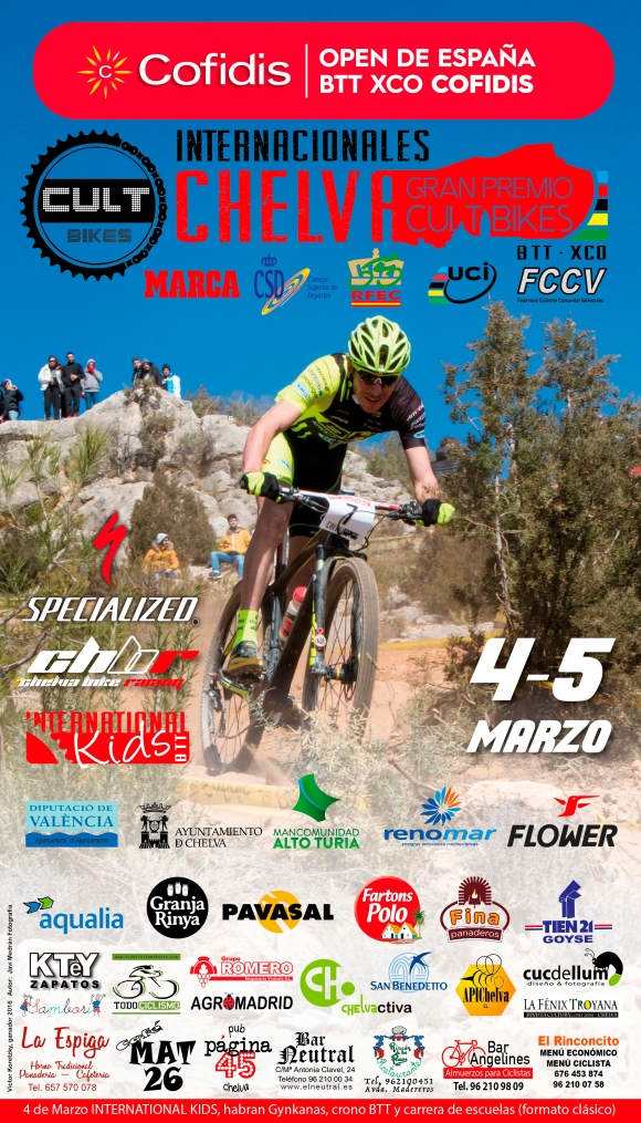 OPEN CHELVA 2017 CARTEL