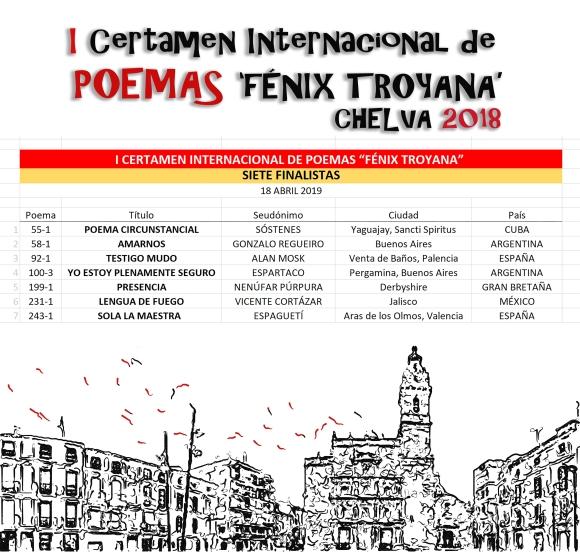 20190418 FINALISTAS, SIETE, DE POEMAS FENIX, 1 EDICION V3